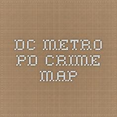 DC Metro PD- searchable Crime Map