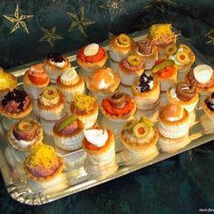 Appetizer Recipes, Snack Recipes, Appetizers, Snacks, Muffins, Empanadas, Tostadas, High Tea, Mini Cupcakes