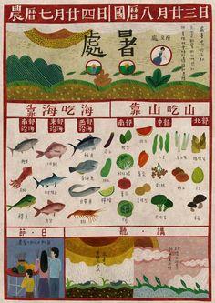 seed design - Chinese solar term calendar