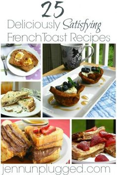 French Toast Recipes (Round Up)
