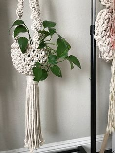 Macrame Plant Hanger Pattern Pattern Name - Basket Plant Hanger Buy 4 DIY Macrame Patterns and get one free using Coupon Code: Macrame This is a digital download DIY (Do It Yourself) pattern for a Macrame Plant Hanger that I designed. It list the materials needed, recommended supplies, a list of knots used, a step-by-step on how to complete the project as well as reference photos. Suitable for a beginner if you work alongside my YouTube Macrame videos which can be found at tinyurl.com/...