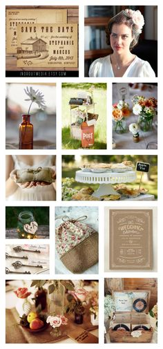 Inspiration: 1930s-Influenced Vintage Country Wedding