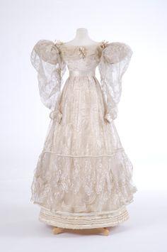 Evening dress ~ (1829)