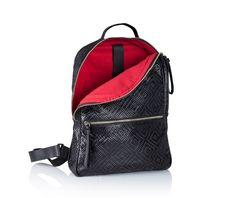Backpack  Woven black leather backpack  Handmade Leather by JUDtlv