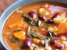 Bean and vegetable soup | Healthy recipes | Australian Natural Health Magazine
