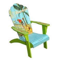 Margaritaville Beach Chairs | Margaritaville Model SA-623142 Classic Adirondack Chair | Home And ...