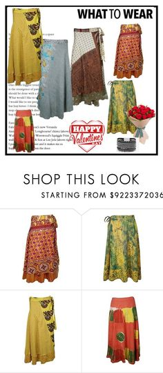 Western Wear Wrap Around Long Maxi Skirts by lavanyas-trendzs on Polyvore featuring White House Black Market   #wrapskirts #maxiskirts #bohemian #boho #women #fashion #wraparound  #reversibleskirts #sarongdress #halterdress #magiclongskirts #Valentinesgift #Valentinegiftforher