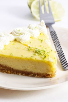 No Bake Lime Margarita Pie with Pretzel Crust Recipe