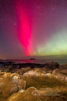 Aurora Borealis, Clonmany, Inishowen, Co. Donegal, Ireland