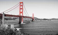 Golded Gate Bridge by Delvin Nurdin