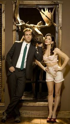 """Sandra Bullock and Ryan Reynolds in """"The Proposal"""" 