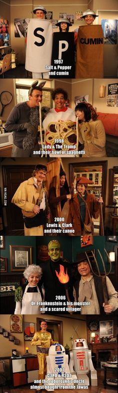 How I Met Your Mother Ted the 3rd wheel master