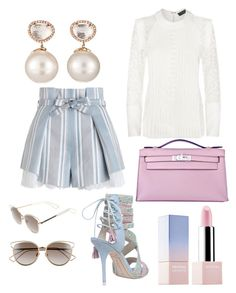 Pantone Colors by maria-theresa-gavieres-padua on Polyvore featuring polyvore fashion style Elie Saab Zimmermann Sophia Webster Hermès Samira 13 Christian Dior Sephora Collection clothing