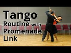 How to Dance Tango - Back Corte | Routine and Figures - YouTube