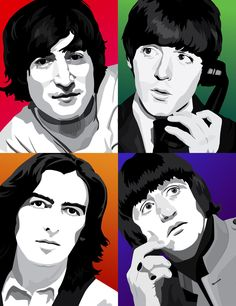 The Beatles DUDE.. Now I really want to try this.. ^-^