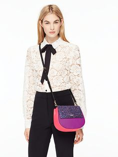 I need this 😍😍  cameron street glitter small byrdie   Kate Spade New York