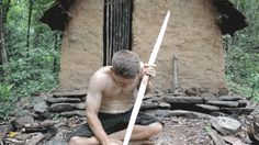 Making a Bow and Arrow Without Modern Tools Is Damn Impressive