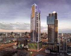 These signature elements signify the building's elegance. It's architecture that makes a solid statement, both to City Road and the landscape of Melbourne.  http://platinumtower.com.au/#/architecture/