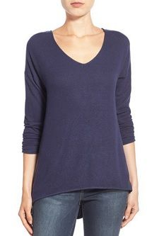 super soft sweater to wear with skinny jeans, fleece sweater, washable sweater, sweater under $50, best Nordstrom buys, Gibson sweaters