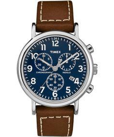 993758afff10 Weekender Chrono 2 Piece 40mm Leather Watch