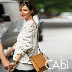 STYLE IT! Wanna know what the #1  CAbi Coveted Spring Sweater Must Have is? Here she is!!  www.caronmcmahon.cabionline.com