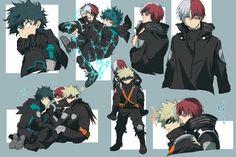 My Hero Academia Shouto, My Hero Academia Episodes, Hero Academia Characters, Anime Boys, Neji E Tenten, Hiro Big Hero 6, Yuri, The Three Musketeers, Big Three