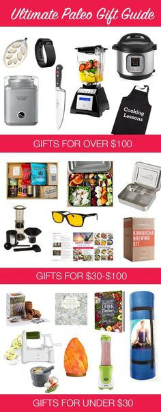 Ultimate Paleo Gifts For Any Occasion | http://eatdrinkpaleo.com.au/ultimate-paleo-gifts-for-christmas-birthdays/