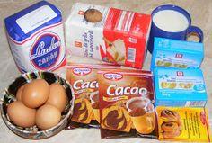 Prajitura Negresa ingrediente Romanian Recipes, Romanian Food, Breakfast, Breakfast Cafe, Morning Breakfast