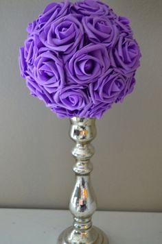 Luxury Elegant Wedding LAVENDER hanging foam by KimeeKouture
