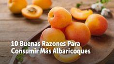 Dulces y sabrosos.. El sabor del los albaricoques es algo maravilloso, pero además hoy te alegrarás al sabor la cantidad de beneficios que tienen para la salud.