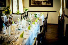 Wedding Schloss Kassegg Wedding Locations, Table Settings, Restaurant, Inspiration, Biblical Inspiration, Table Top Decorations, Diner Restaurant, Place Settings, Supper Club