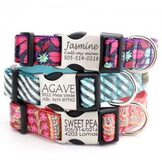 These are the cutest dog collars EVER!!! Go check them out and sign up for FREE dog collars!! http://www.shopmimigreen.com/blog/free_dog_collars_giveaway/