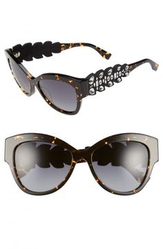 48fb136bcfc Available    472.60 Fendi 55mm Crystal Encrusted Sunglasses   womenssunglasses Latest Sunglasses