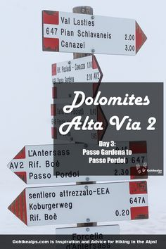 Dolomites Alta Via 2 Day Passo Gardena to Passo Pordoi. Caught in a surprise whiteout on the Sella Massif in July! Walking In Sunshine, Weather In Italy, Italy Culture, Best Red Wine, Better Weather, Italy Food, Visit Italy, Us Map, All The Way Down