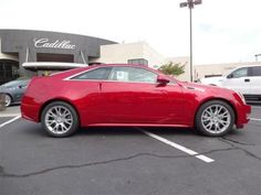 2013 Cadillac CTS Coupe Red