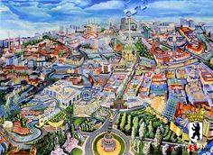 "Ravensburger 1000 Piece Jigsaw puzzles ""Berlin City"" / RAW156429 #Ravensburger"