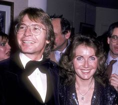 John Denver and wife Annie Martell attend the Opening Night Exhibitions of John Denver's Photographs and David Armstrong's Paintings on December 1980 at Hammer Galleries in New York City. (Photo by Ron Galella/WireImage) John Denver, Aspen, David Armstrong, Colorado, David Archuleta, Nicholas Sparks, Opening Night, Special People, Celebs