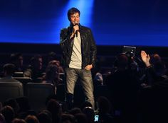 "Enrique Iglesias announces Album Of The Year nominees on ""The GRAMMY Nominations Live!! — Countdown To Music's Biggest Night"" on Dec. 6 in Los Angeles"
