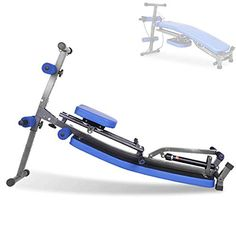 CARACHOME Rowing Machines for Home Use, Multi-Function Combination of Supine Board And Rowing Machine Dual Track Design, Maximum Load Is 150 Kg : Rowing machine with hydraulic resista... Rowing Machines, Workout Machines, Rowing Workout, Aerobics Workout, At Home Gym, You Fitness, No Equipment Workout, Multifunctional, Steel Frame