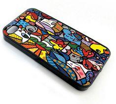 Romero Brito First Love - iPhone 4 Case,