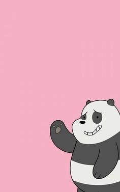 Panda Wallpaper Iphone Pandaaa We Bare Bears Wallpaper - We Bare Bears Panpan, HD Wallpaper & Backgrounds Wallpaper Kawaii, Flowery Wallpaper, Disney Phone Wallpaper, Bear Wallpaper, Cartoon Wallpaper, We Bare Bears Wallpapers, Panda Wallpapers, Cute Wallpapers, Wallpaper Backgrounds