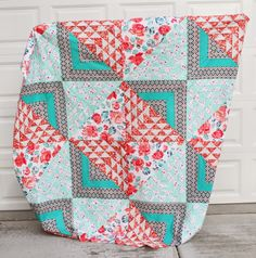 Quilt Story: Finished Birchen quilt top!