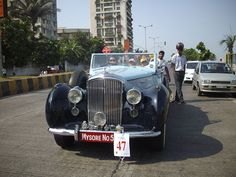 The Vintage Classic Car Fiesta Is Held In February In Mumbai It