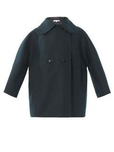 Double-breasted cotton coat from Carven