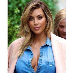 Kim Kardashian's hair light :D