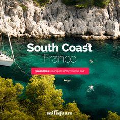 South coast #France #Sailing  www.sailsquare.com
