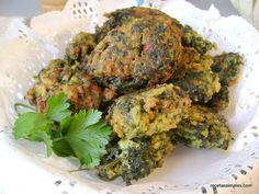 Bocaditos de espinaca y arroz integral - Recetízate