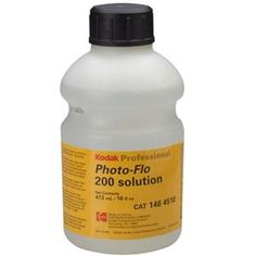 Kodak 1464510 Photo-Flo 200 Wetting Agent 16oz, Bottle $8
