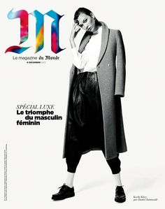 Karlie Kloss by Daniel Sannwald for M Le Magazine Du Monde December 2012