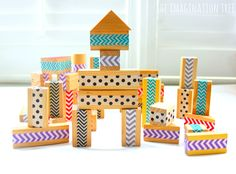 Make some easy, DIY patterned wood blocks for babies, toddlers and preschoolers to enjoy building with! These make a lovely addition to the construction play box and would be such a nice and frugal gift idea for a small child. An older sibling could make these all by themselves! DIY Patterned Wood Blocks: We are...Read More »